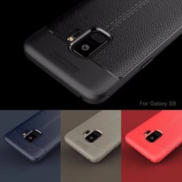 Soft TPU Silicone Original AUTO FOCUS Case Anti Slip Leather Texture Phone Cases Cover For Samsung S7 Edge S8 S9 Plus NOTE8 A82018