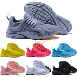 2018 Wholesale Discount Presto 5 Grey purple pure white Ultra Runner Men's & Women's running shoes Classic Sport Sneakers