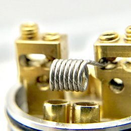 Free Shipping Howing vape wire tortuosity premade coil a 23awg wire carved newest design with free shipping