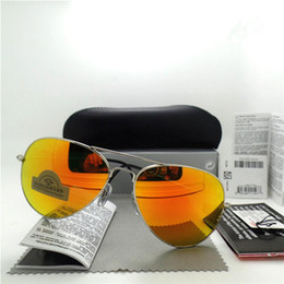 Polarized lens Brand Designer Fashion New Men Women Sunglasses UV Protection Sport Vintage Sun glasses Retro Eyewear With box and case