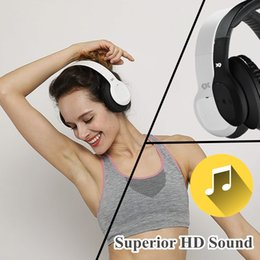 Over-ear Bluetooth Headphones Wireless Headset with Microphone for Gaming PC iPhone iPad