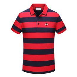 2018Fashion embroidery animal clothing new men Poros leisure slender suit Medusa shirt polo short sleeve polo man high quality T-shirt
