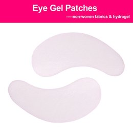 100 Pairs Eye Pads Eyelash Pad Gel Patch Lint Lashes Extension Mask Eye pads Beauty Tool