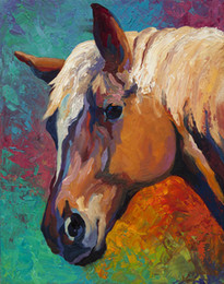 Horse head Artwork Unframed Modern Canvas Wall Art for Home and Office Decoration,Oil Painting ,Animal painatings ,Frame painting