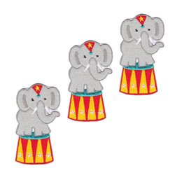 small elephant ,embroidery patch Embroidered Applique Iron On mongol Embroidery 12pcs lot,DIY decorative applique, customizable