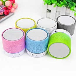 Wireless Bluetooth Speaker Mini Column USB Portable Radio FM Music Player Speakers Kalonki Sound Box Phone Computer PC free shipping 2018