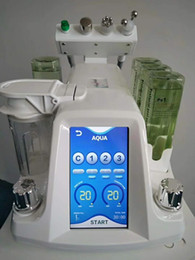 Hot Hydra Dermabrasion RF Bio-lifting Spa Facial Machine   Aqua Facial cleaningl Machine  water Peeling Dermabrasion Free shp