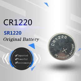 The original imported Japanese genuine product CR1220 dl12203v Lithium button Lithium battery has no pump environment protection