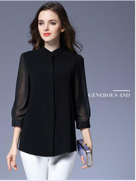 PT102 plus size t shirt women long sleeve mesh chiffon high quality summer blouse
