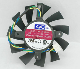 NVIDIA GTX460 550TI AVC four-pin video card cooling fan DASA0815R2U smart thermostat DASA0815R2H