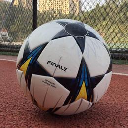 2018 Final KYIV European champion league Soccer ball PU size 5 balls granules slip-resistant football Free shipping high quality ball