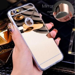 Luxury Electroplate Ultra-thin Mirror Case Soft TPU Silicone Back Cover for iPhone X XS MAX XR 8 7 6 Plus Samsung S9 S8 Plus