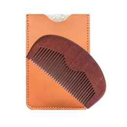 Pocket Comb & Leather Case Wholesale Supplier Fine Teeth for use with Balms and Oils,HairCut Fade Comb over Hair Beard Style BUY NOW!