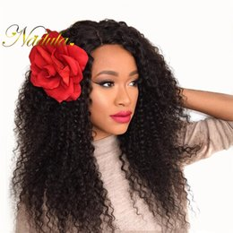 Nadula Brazilian Curly Hair Bundle Virgin Human Hair Weft 4Bundles Remy Hair Weave Closure Brazilian Curly Bundle Natural Color Wholesale