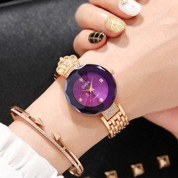 2019 Luxury Rose Gold Women Watch Bracelet With Diamond High Quality Fashion Casual Quartz Ladies Watches Dropshiping