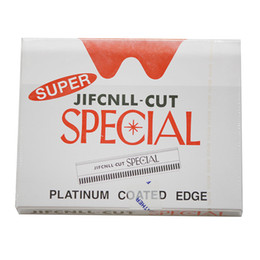 100 pieces  lot ,Wholesale Super rcut Razor Blades  Sharp blade for hair razor with removable blades