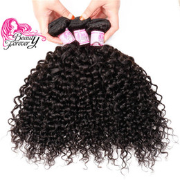 Beauty Forever Curly Peruvian Virgin Hair Weaves 4 Bundles Unprocessed Double Weft Human Hair Products Natural Color 8-26inch Hair Extension