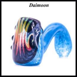 Special Elegant Swan water pipe spoon pipe for somking hand Pipes glass oil burner pipe Hookahs