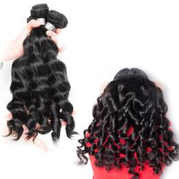 FashionableHuman Hair Brazilian Loose Wave Bundles 8-30 Inches 100% Human Hair Weave Bundles Natural Black Virgin Hair Weaving
