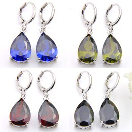 Free Shipping New Arrival Party Jewelry Colored Crystal Australia Wedding Earrings E0073