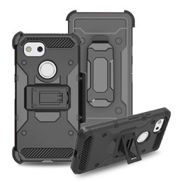 Tough Armor Rugged Case for Google Pixel 2 3 XL Cover with Kickstand Shockproof Belt Clip Defender Holster