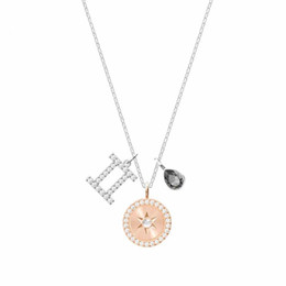Three-in-one combination fashion ladies constellation pendant nacklace