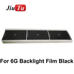 Backlight film sticker black paper for iphone6 6G LCD Sreen Display back light Adhesive Sticker replacement Repair DHL free shipping