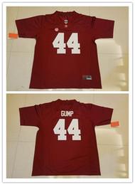University of Alabama Crimson Tide #44 Forrest Gump Red Mens Hot Sale Stitched NCAA College Football Tom Hanks Film Jerseys S-3XL