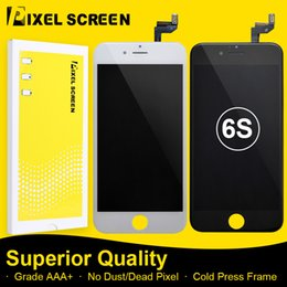 Incell LCD Screen For iPhone 6S No Dead Pixel Grade A LCD Screen Replacement Assembly With Touch Screen Digitizer Free DHL Shipping