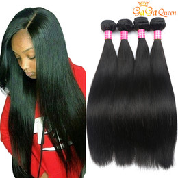 Brazilian Straight Hair Weave Bundles 8A Grade Unprocessed Virgin Straight human hair Extensions Wet and Wavy Brazilian Hair Weave