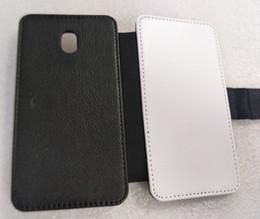 PU leather sublimation case for samsung J3 J5 J6 J7 2017 Heat press print case 100pcs can mix free shipping