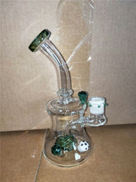 Mini Bong Water Pipe Recycler Bong Dab Rig Oil Rig Heady Bong Smoking Pipe Ice Clear Bend Cheap Price