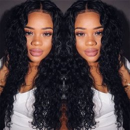 Lace Front Human Hair Wigs For Black Women Remy Peruvian Deep Curly Full Lace Wigs With Baby Hair Bleached Knots Pre Plucked