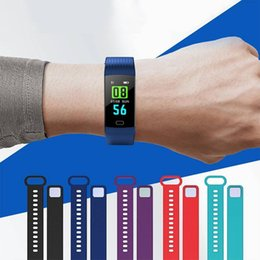 Smart sports band Color Screen Intelligent Bracelet Y5 with HR Blood Pressure Oxygen Monitor Fitness Trackers fitbit for Xiaomi IOS Android