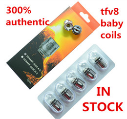 100% Authentic TFV8 BABY Beast Tank Coils Head V8 Baby-T8 T6 X4 M2 0.15 0.25ohm Q2 0.4 0.6ohm Core