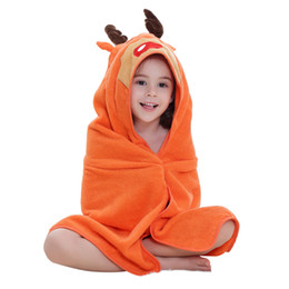 Children Towels Animal Baby Bathrobe 5 Styles New Arrival Summer Girls Cotton Clothing Cartoon Comfortable Robes