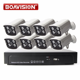 1080P IP Camera Video Security Surveillance 8Ch PoE NVR Recorder System Kit Bullet 8 Channel PoE NVR CCTV System