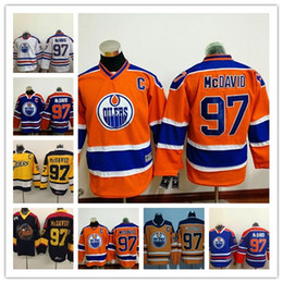 Top Quality ! Men Erie Otters Hockey Jerseys Cheap #97 Connor McDavid Jersey Authentic Stitched Jerseys Edmonton Oilers McDavid Mix Order !