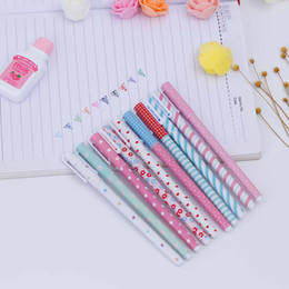 free shipping high quality 2018 New 10 Color Gel Pen Kawaii Stationery Korean Flower Canetas Escolar Papelaria Gift Office School Supplies