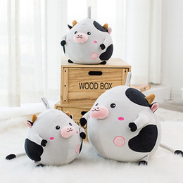 two-size down cotton-wool stuffed with soft plush cow toy,Can be customized according to the picture