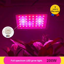 200W LED Grow Light Full Spectrum LEDs Fitolampy Plant Growing Lights Lamps for Plants FLowers Growing Greenhouse