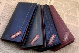 wholesale Men's new brand wallet multi-card holder Korean version of the long clutch Bags manufacturers
