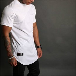 Fitness Sports Summer Mens Fashion Sport Short Sleeve T-Shirt O Neck Print Super Elastic Slim Fit T Shirt