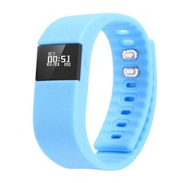 TW64 Bluetooth V4.0 Smart Watch Sport Bracelet Wristband Gym Running Pedometer Fitness Activity Tracker Reminder for IOS Android fitbits