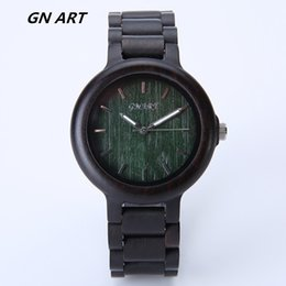 GNART299 Individual watch wood Halloween gift natural bamboo watch man watches woman watches Fashion watches Casual watch
