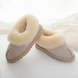 New snow boots women's fur cotton shoes winter Han edition fluffy shoes students wool beans shoes and boots