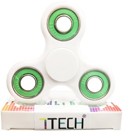 7TECH Tri-Spinner Fidget Spinner Toy Funny Anti Stress Toys - Longer time Perfect For ADD, ADHD, Anxiety, and Autism Adult Children