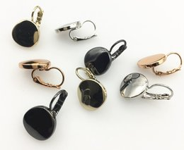 FRENCH TEARDROP EARRINGS IN COLORS HIGH POLISHED METAL FOR WOMEN GIFT ON WHOLESALE UNDER QUICK DELIVERY