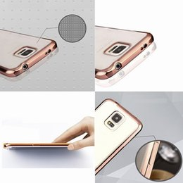 Luxury Plating Transparent Silicone TPU Bumper Phone Cases Cover Shell for IPhone x 8 7 7s 6 6s Plus 5s Samsung Galaxy S5 S9 Plus S7 Edge