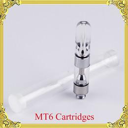 MT6 Acrylic Mouthpiece Glass 510 Thread Ceramic Coils G5 Thick Oil Vaporizer Pen Cartridges Atomizer Bud Vape Tank-01